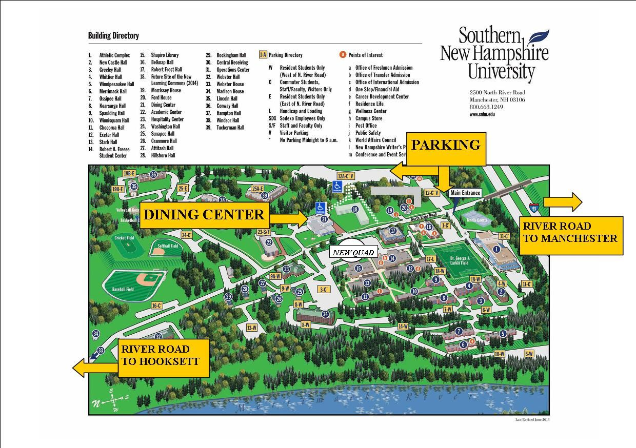 Southern New Hampshire University Campus Map.World Affairs Council Of New Hampshire Restoring American Leadership